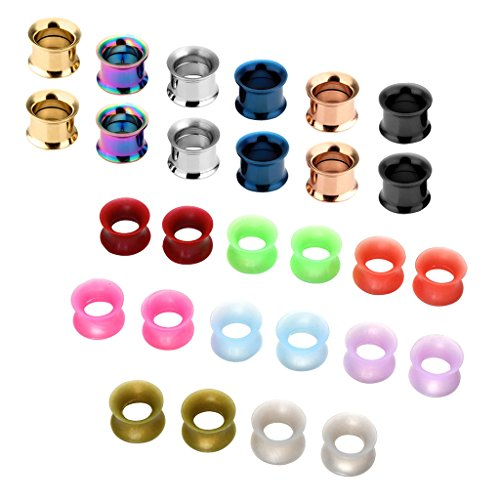 00g stainless steel plugs - 4