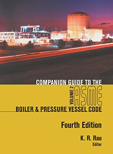 Companion Guide to the ASME Boiler and Pressure Vessel Code