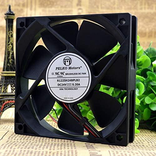 Cytom for New PELKOMOTORS R1225H24BPLB2 12025 12cm 24V 0.20A Cooling Fan