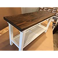 Hallway / Mud Room / Foyer Bench 36 Increased 16  Width Reduced Height