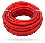 InstallGear 10 Gauge Red 25ft Power Ground Wire True Spec and Soft Touch Cable