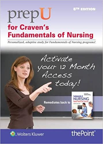 Prepu for cravens fundamentals of nursing human health and prepu for cravens fundamentals of nursing human health and function 8th edition fandeluxe Image collections