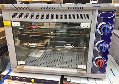 (PROFESSIONAL Commercial Kitchen Equipment NATURAL GAS Countertop 9-Chicken Capacity Bird Turkey Chicken Rotisserie Roaster Oven Grill)