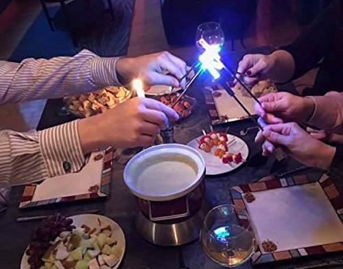 Pack of 6 di Potter AC122 LED Cheese Fondue Forks