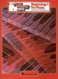 Beginnings 1 for Piano, , 0793521513