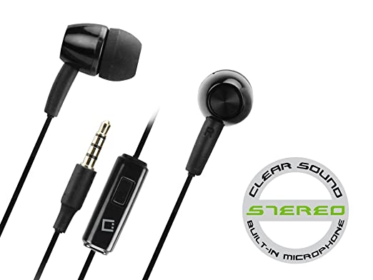 lg earbuds. lg g stylo black hands free stereo soft earbuds lg e