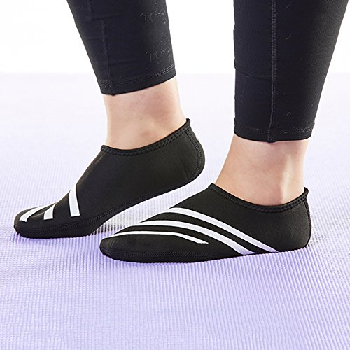 Nufoot Sporty Black Slipper Medium Black Indoor Womens Nu Shoes rrwxPqBRO