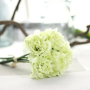 FYYDNZA 1 Bouquet 5 Head Artificial Luxury Decoration Hydrangea Flower Non-Leaf Fake Hydrangea Floral Home Garden Wedding Decoration 104
