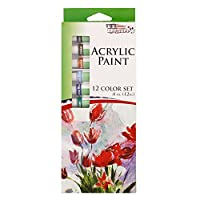 US Art Supply® 12ml Acrylic Tube Artist Paint Set (12-Tubes)