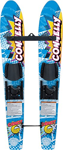 Connelly Skis Cadet Waterski Pair with Slide Adjustable Bindings