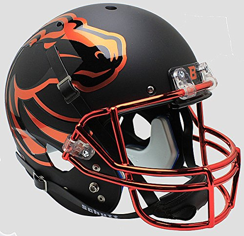 Schutt Boise State Broncos Full XP Replica Football Helmet Halloween - NCAA Licensed - Boise State Broncos Collectibles -