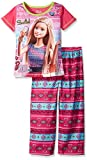Barbie Girls Selfie 2 Piece Pajama Set, Sizes 4-12