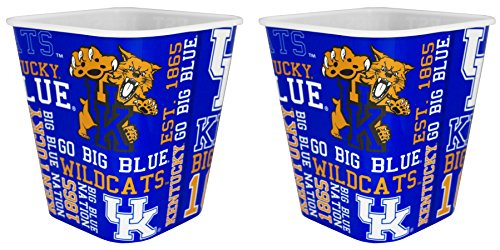 NCAA Kentucky Wildcats 3 Liter Reusable Plastic Snack Bucket 2 (Kentucky Cooler)