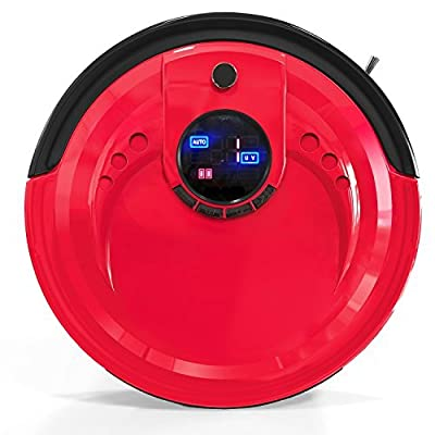 bObsweep Standard Robotic Vacuum Cleaner and Mop, Rouge by bObsweep