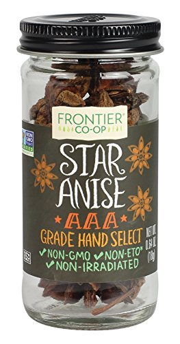 Frontier Natural Products Anise Star Select Whole, 0.64-Ounce ()