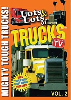 Lots & Lots of Trucks for Kids DVD Volume 2 - Mighty Tough Trucks
