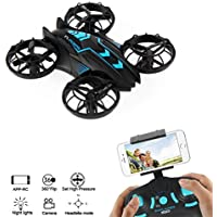ZV RC mini Drone With Live Camera Altitude Hold 2.4G 4CH Mini Quadcopter With Camera for kids/Beginners