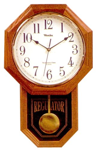 Perfect Chime Wall Clock, 18u0026quot; ...