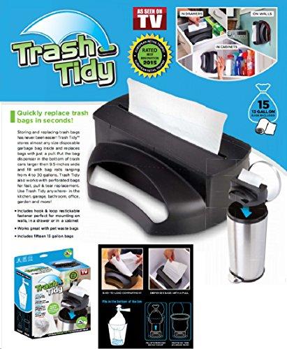 Trash Tidy Garbage Bag Dispenser and Organizer