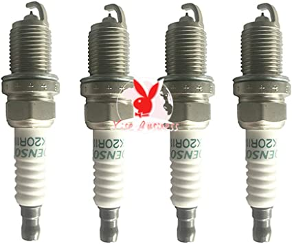 yise-A020 SK20R11 90919-01210 bujías de iridio para Toyota Scion Camry RAV4 Tundra Lexus 4.7L/V8 9091901210: Amazon.es: Bricolaje y herramientas
