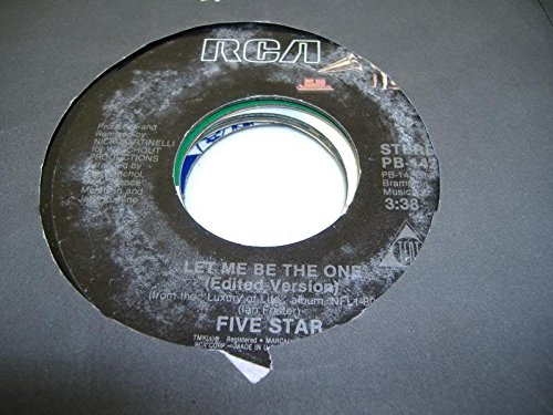 FIVE STAR 45 RPM Let Me Be The One (Edited Version) / Let Me Be The One (Edited Philadelphia Remix)