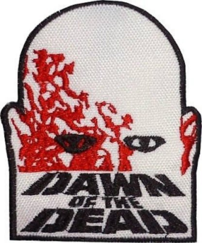 - Dawn of the Dead Patch Embroidered Iron / Sew on Badge Horror Movie Zombie Costume Souvenir Applique