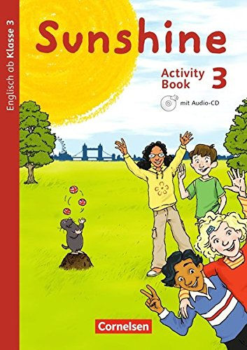 Sunshine - Allgemeine Ausgabe - Neubearbeitung: 3. Schuljahr - Activity Book: Mit Audio-CD, Minibildkarten und Faltbox