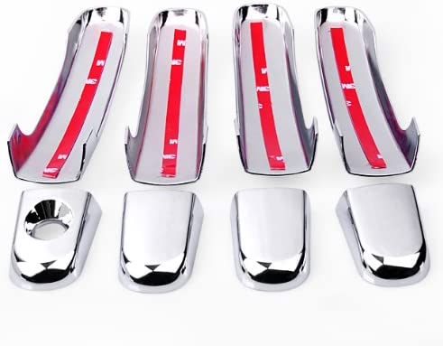 Chrome Side Door Handle Cover Trim Fit 2010-2017 Chevrolet Equinox Terrain