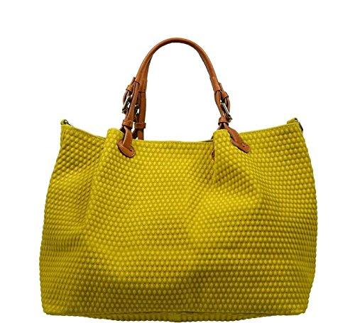 Neue Hand Tasche , Sac pour femme à porter à l'épaule jaune jaune 1