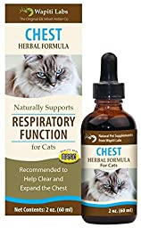 Wapiti Labs Chest Herbal Formula for Respiratory Function - 2 oz