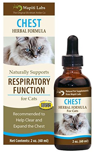 Wapiti Labs Chest Herbal Formula for Respiratory Function - 2 (Chest Cat)