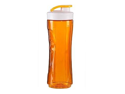 Domo do435bl-bg botella plástico naranja 7,5 x 7,5 x 23