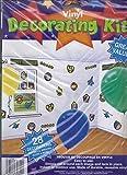 Amscan Military Vinyl Decorating Kit Indoor/Outdoor