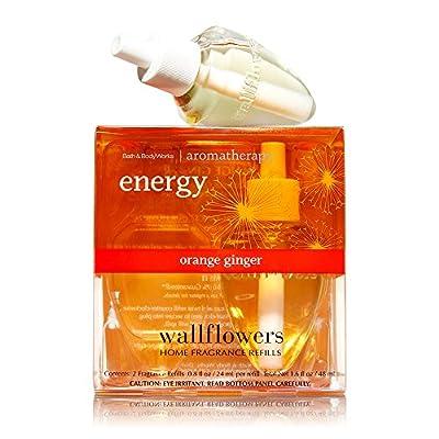 Bath & Body Works Wallflowers Home Fragrance Refill Bulbs Orange Ginger 2 Pack