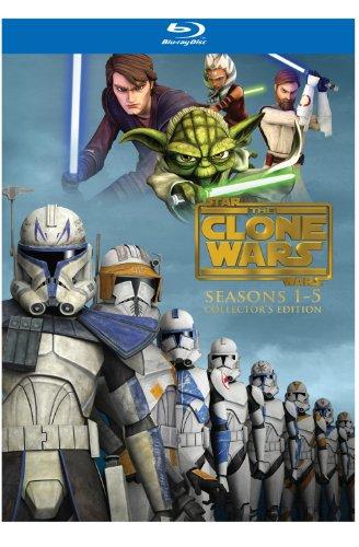 Star Wars: The Clone Wars - Seasons 1-5 (Collector's Edition) - Clone Wars Star Blu Wars Ray