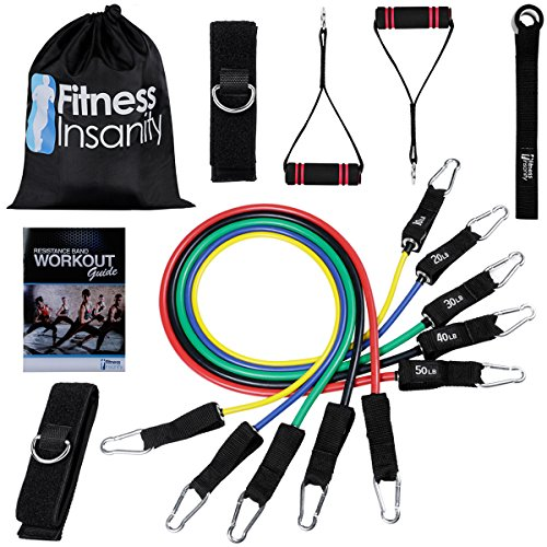 Include 5 Stackable Exercise Bands