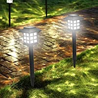 Epyz Solar Powered LED Outdoor Pathway Lights, Landscape Path Lights, Automatic Led for Patio, Yard, Garden