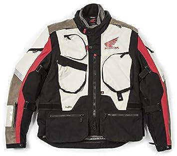 Chaqueta Moto Honda Spidi Adventure 3 capas desmontables M BIANCA ROSSO: Amazon.es: Coche y moto