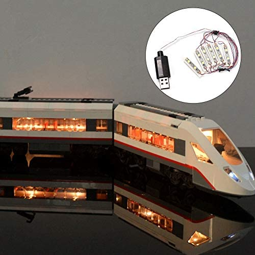 Lego Toy DIY LED Light USB Charging Shining Decoration Bricks Bar-type Lamp