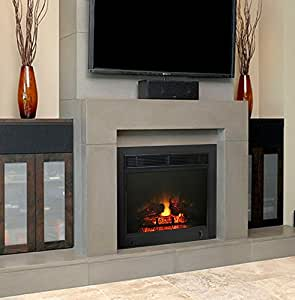 "Amazon.com: 23"" Electric Fireplace Insert: Home & Kitchen"