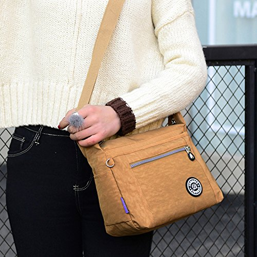 Vintage Nylon Grandes Rojo Bolsos Impermeable Bolso Bag Sport Mecooler Messenger Para Bolsas Tablet De Viaje Bandolera Escolares One Baratos Moda Mujer qzxxgUS