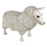 Cheap Design Toscano FU51889 Sheep Settee Sculptural Metal Garden Bench