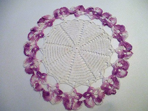 (Vintage White Crocheted 10.5