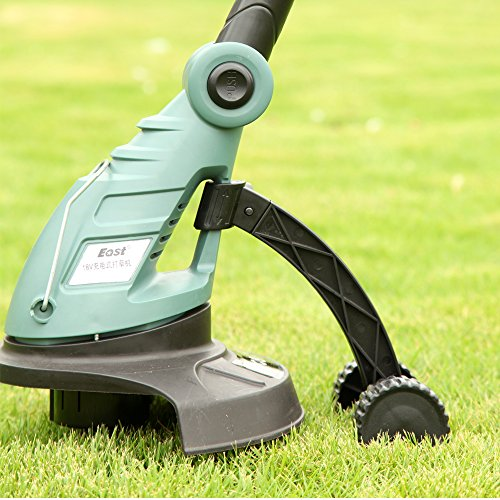 Garden power tools 18V Li-ion battery Cordless grass trimmer reel mower lawn mower telescopic handle mower pruning ET2803 by Generic