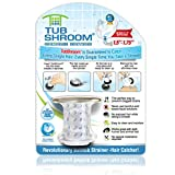 #3: TubShroom Chrome Edition Revolutionary Tub Drain Protector Hair Catcher, Strainer, Snare