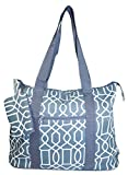Ever Moda Geometric Tote Bag X-Large (Grey) Review