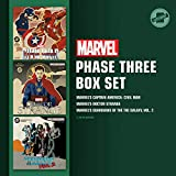 Marvel's Phase Three Box Set: Phase Three: Marvel's Captain America: Civil War; Phase Three: Marvel's Doctor Strange; Phase Three: Marvel's Guardians of the Galaxy, Vol. 2