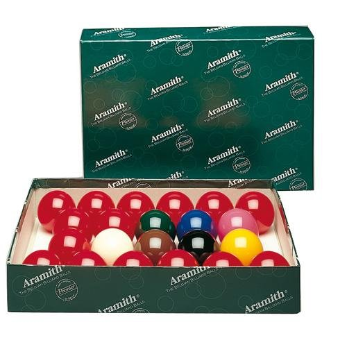 Aramith - Billes Snooker Aramith 57 mm