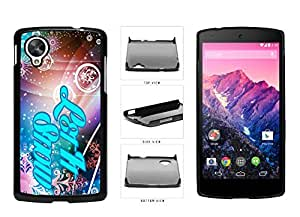 Christmas Themed Let it Snow Plastic Phone Case Back Cover Nexus 5
