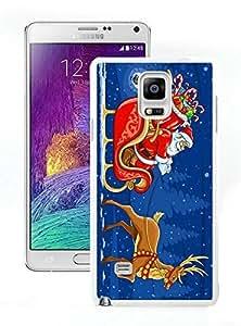 Custom Design Santa Claus White Samsung Galaxy Note 4 Case 6